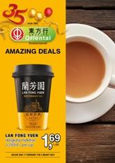 Amazing Oriental week 7-8 2021 Amazing deals