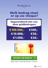 BankGiro Loterij week 19 2021