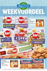 Dagwinkel week 9 2021