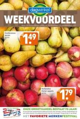Dagwinkel week 38 2021
